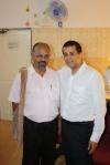 Adyar Store Manager, Sivakumar with Chetan