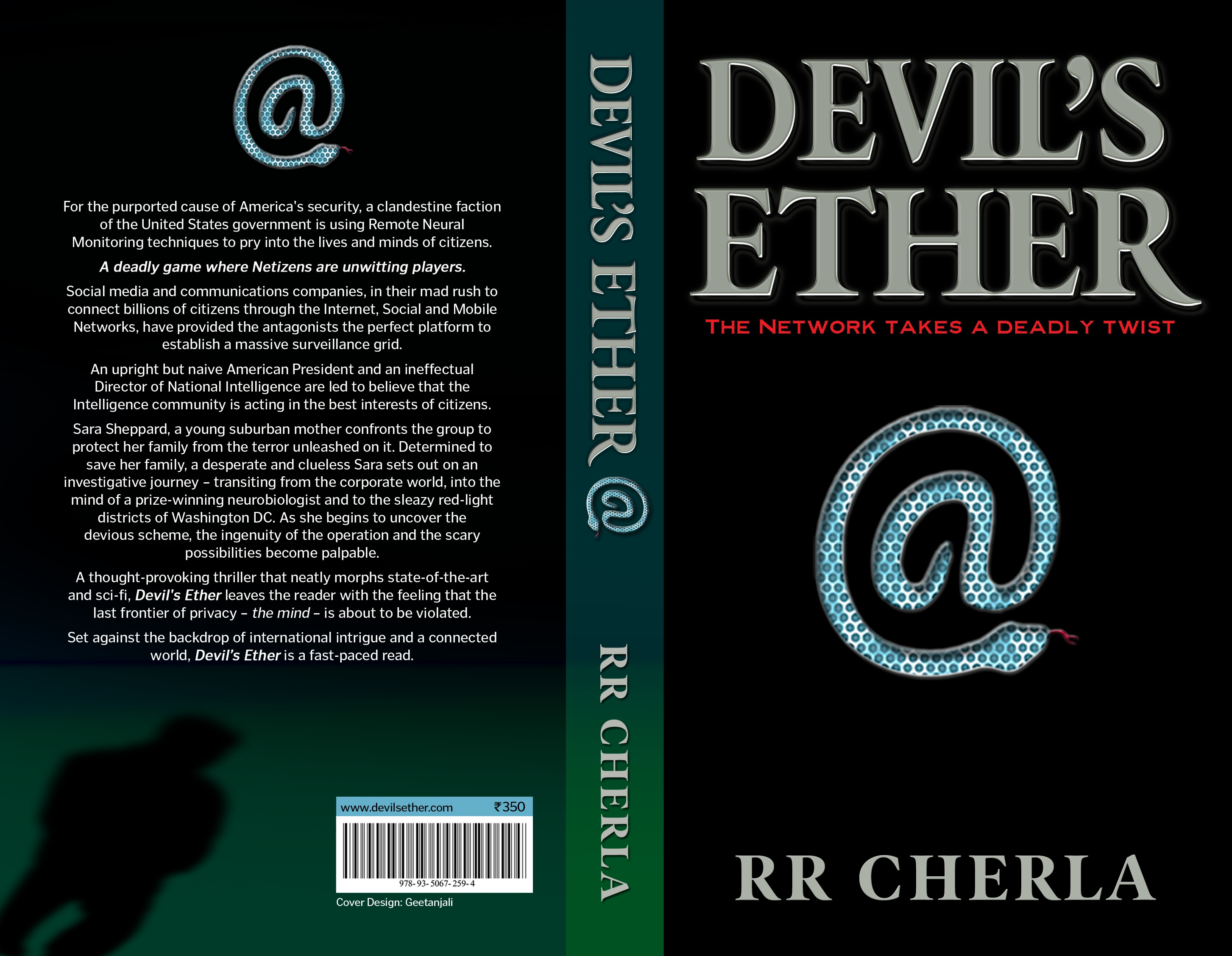 devil s ether an interview author r r cherla justbooks clc thank you cherla for this interview us congrats to you on very positive reviews on your book